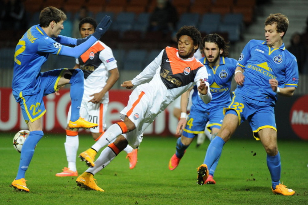 Благодаря пяти голам нападающего «Шахтер» разгромил БАТЭ со счетом 7:0