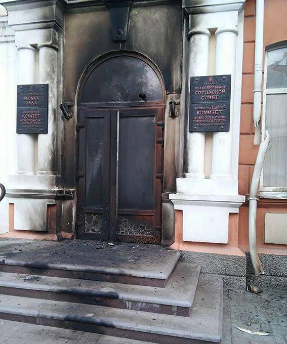 Аваков: УМелітополі затримали 25 підозрюваних удестабілізації ситуації в місті