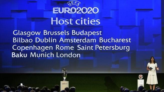 Испытывающая международную изоляцию Россия примет матчи Евро-2020