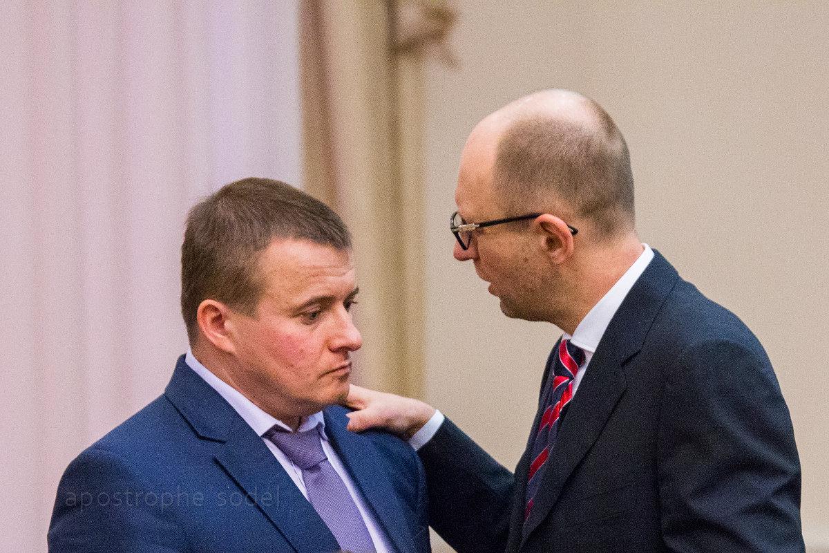 Яценюк взял кредит на закупку газа вопреки позиции своего министра