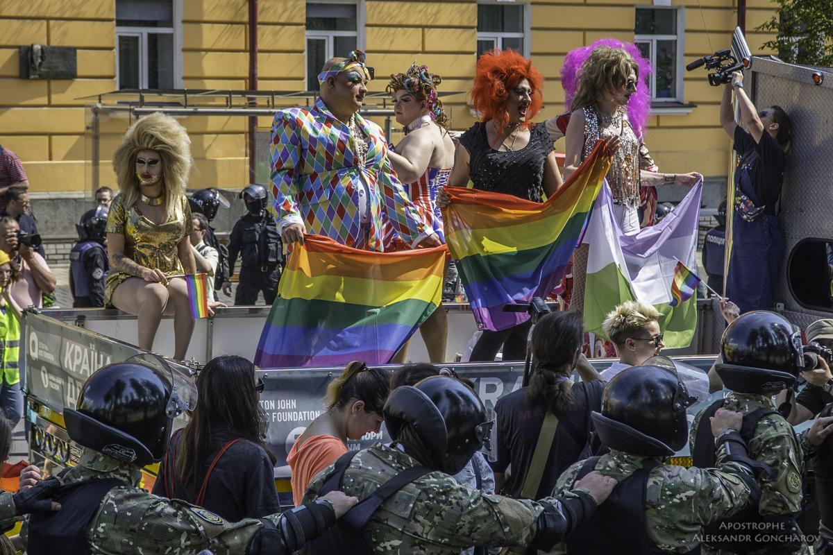 """Организатор """"КиевПрайд"""" Кись: Оргкомитет не всегда разделяет лозунги, которые можно было видеть на Марше равенства - Цензор.НЕТ 3732"""