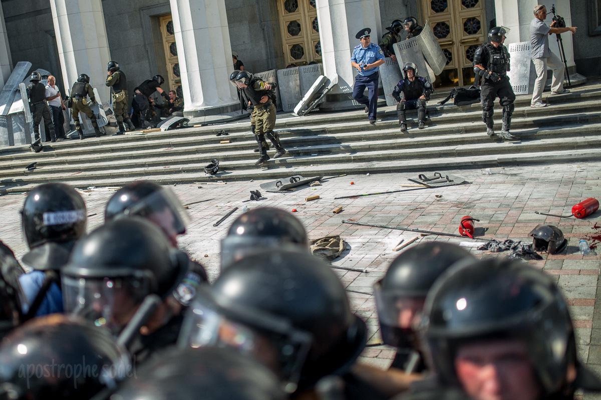 У Авакова рассказали о событиях 31 августа под парламентом