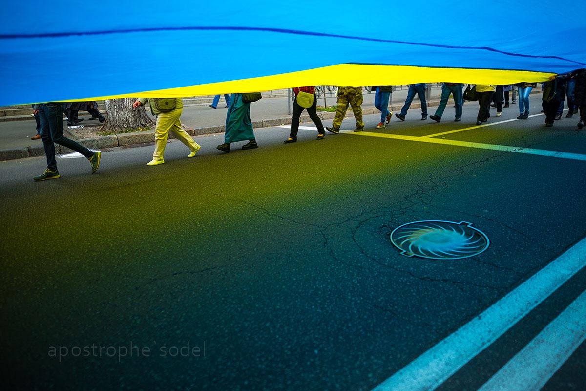 Главные события Украины за год в фото и видео