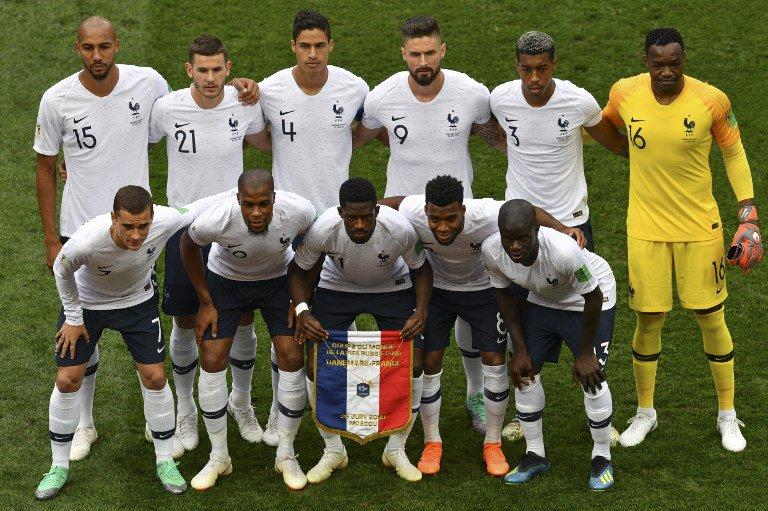 Французы вышли в четвертьфинал ЧМ-2018