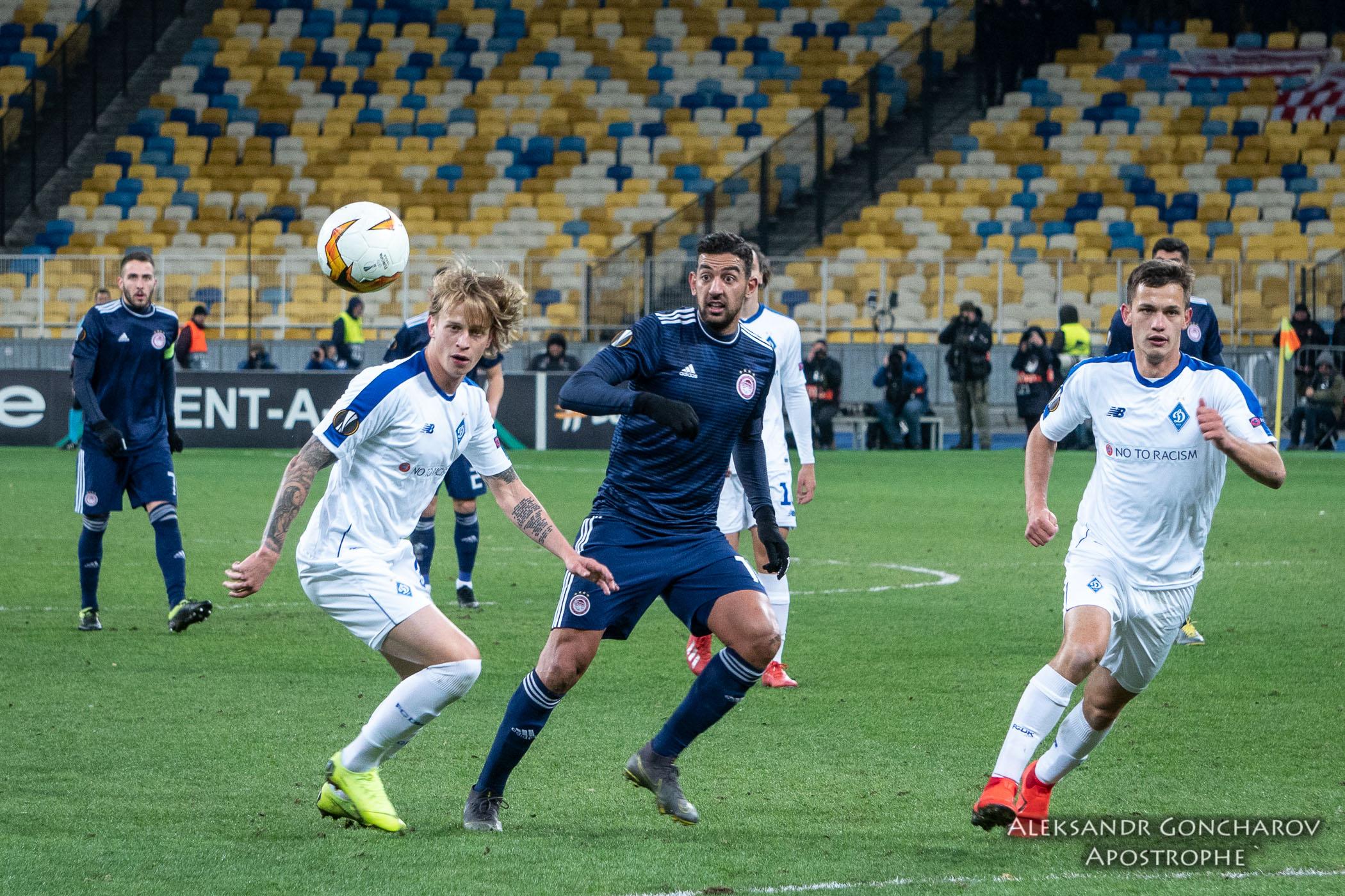 Динамо завоевало путевку в 1/8 финала Лиги Европы