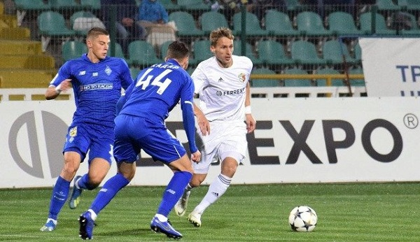 Полтавчане и киевляне играли в матче чемпионата Украины