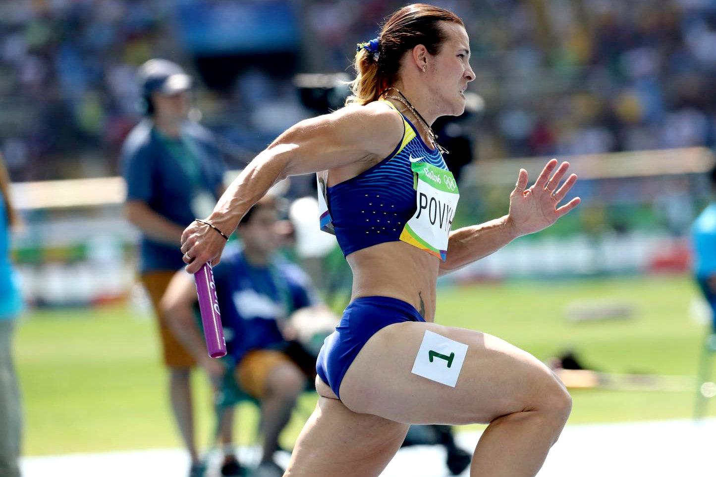 Женская сборная Украины в эстафете 4х100 м не смогла повторить бронзовый успех Лондона-2012