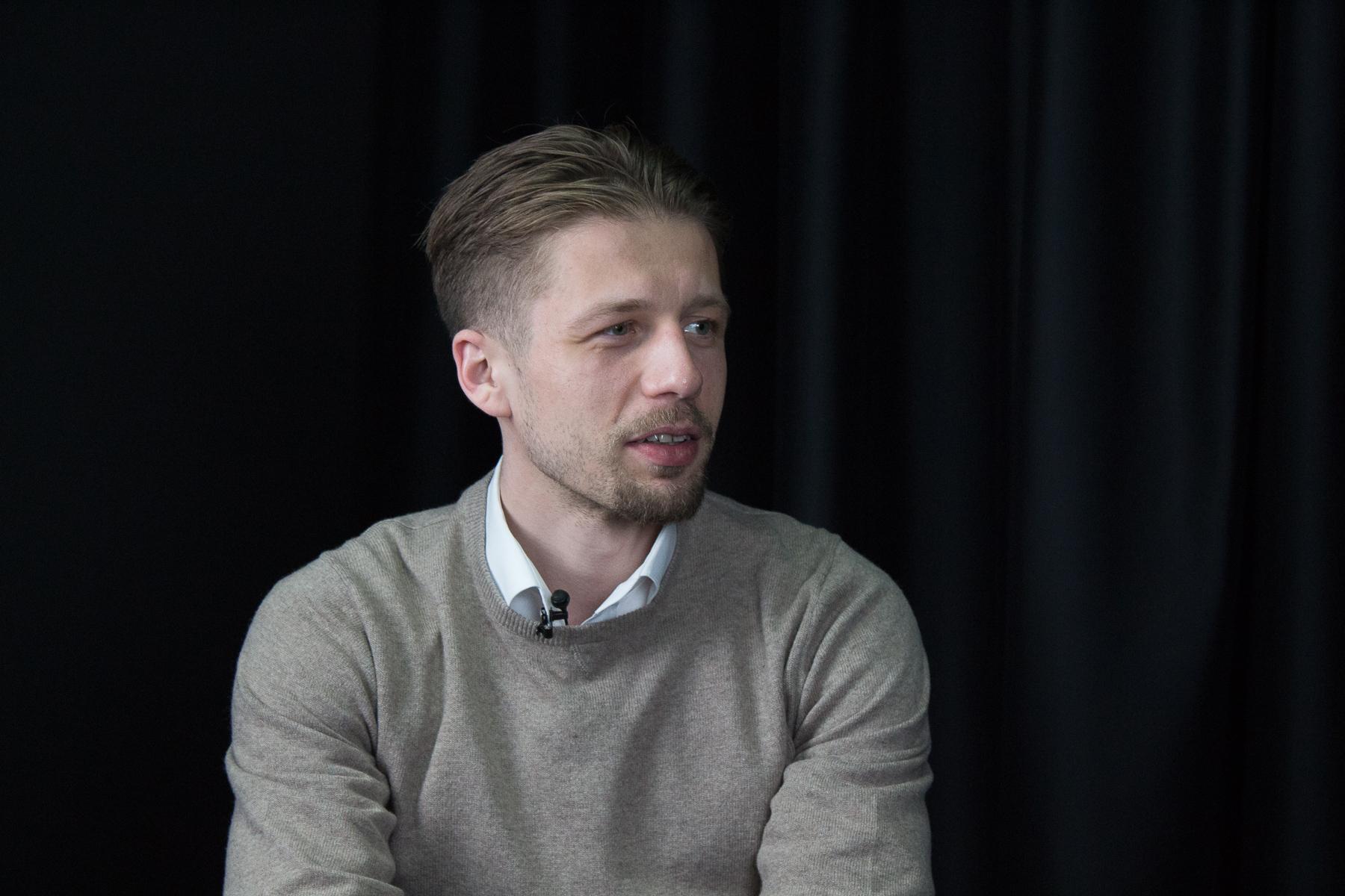 Андрій Вигиринський в ефірі Апостроф TV