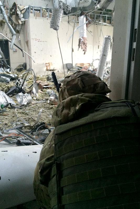 Украинская артиллерия сумела сорвать очередную атаку на Донецкий аэропорт