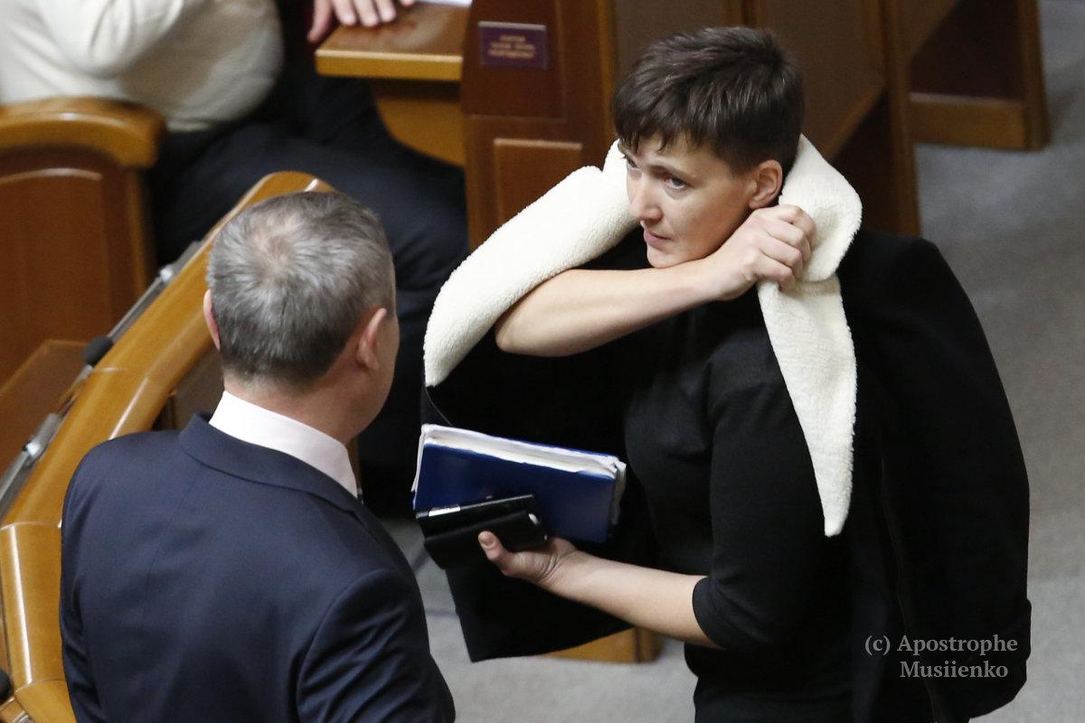 Украинская летчица заявила о начале самостоятельной политической карьеры