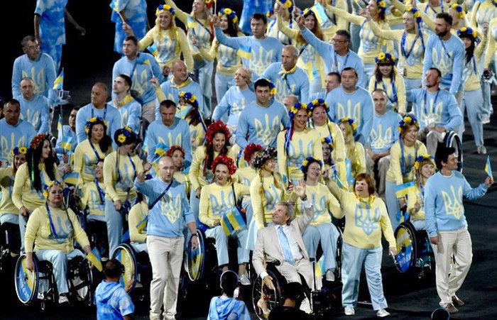 Украинские спортсмены занимают третье место в общем медальном зачете