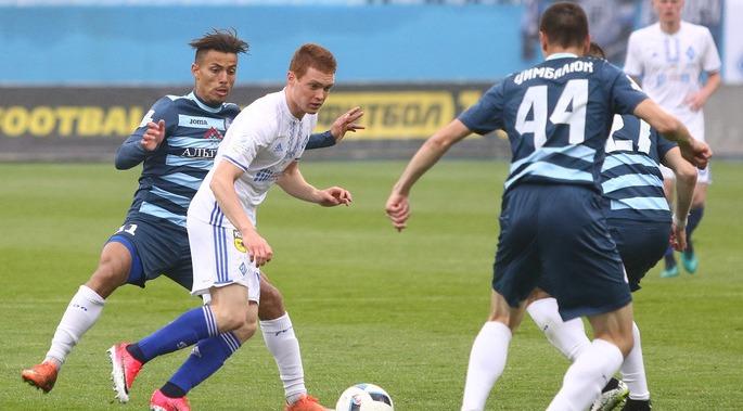 Динамо на своем поле обыграло донецкий клуб