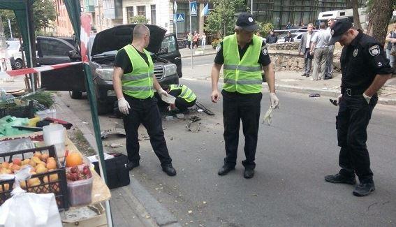 Поліція відкрила провадження через вибух впозашляховику вцентрі Києва