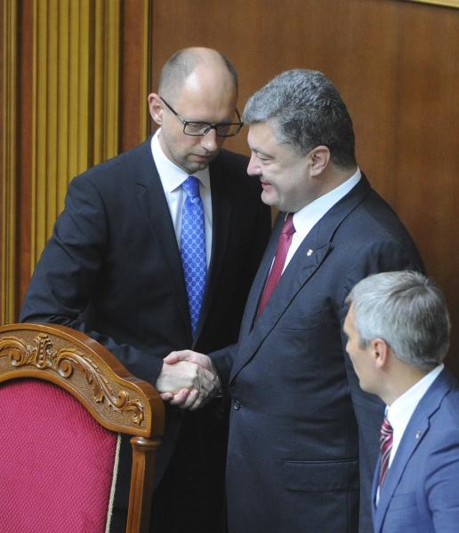Арсений Яценюк сохранил за собой пост премьер-министра