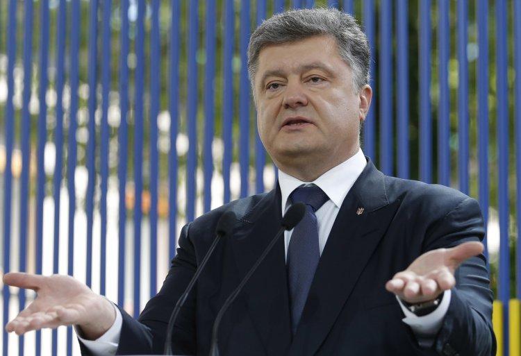 Порошенко о Яценюке, Крыме, войне и многом другом
