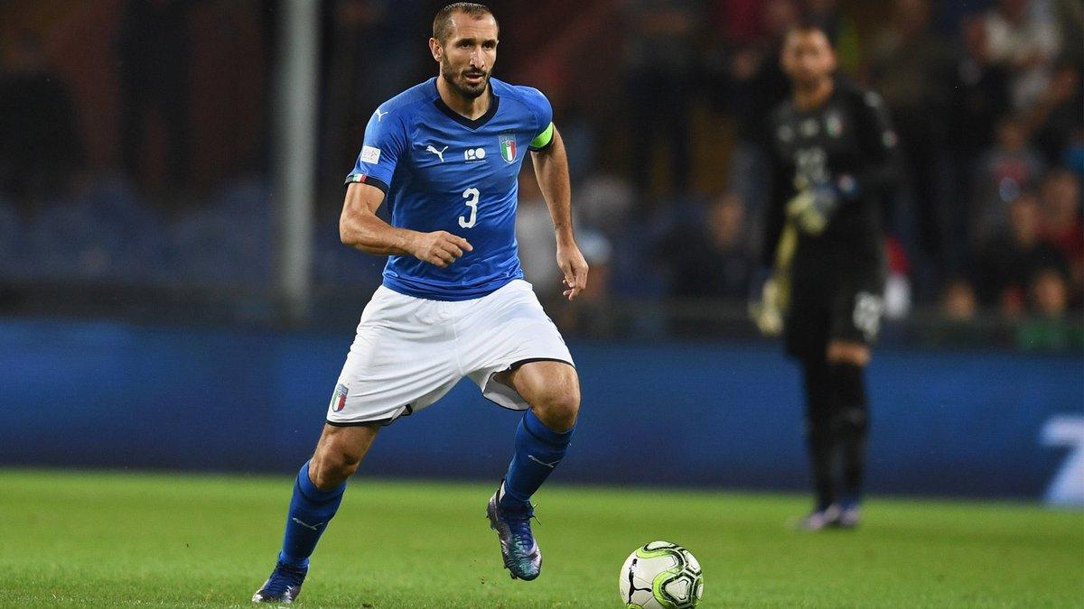 Сборные Италии и Португалии провели матч в Милане