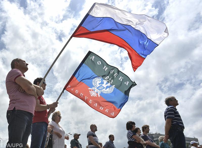 """В так называемых """"республиках"""" на Донбассе пока не ждут перестановок"""