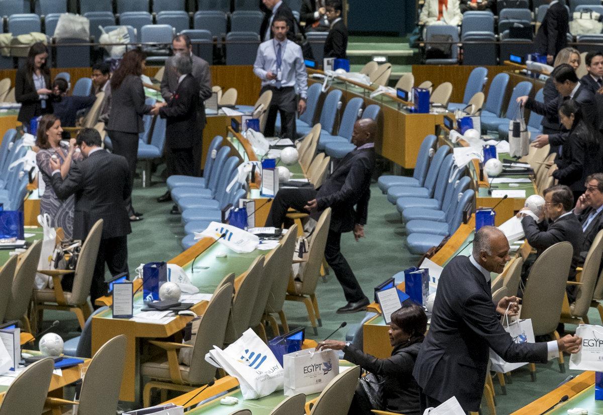 Непостоянное членство в Совбезе ООН дает Украине не очень много возможностей