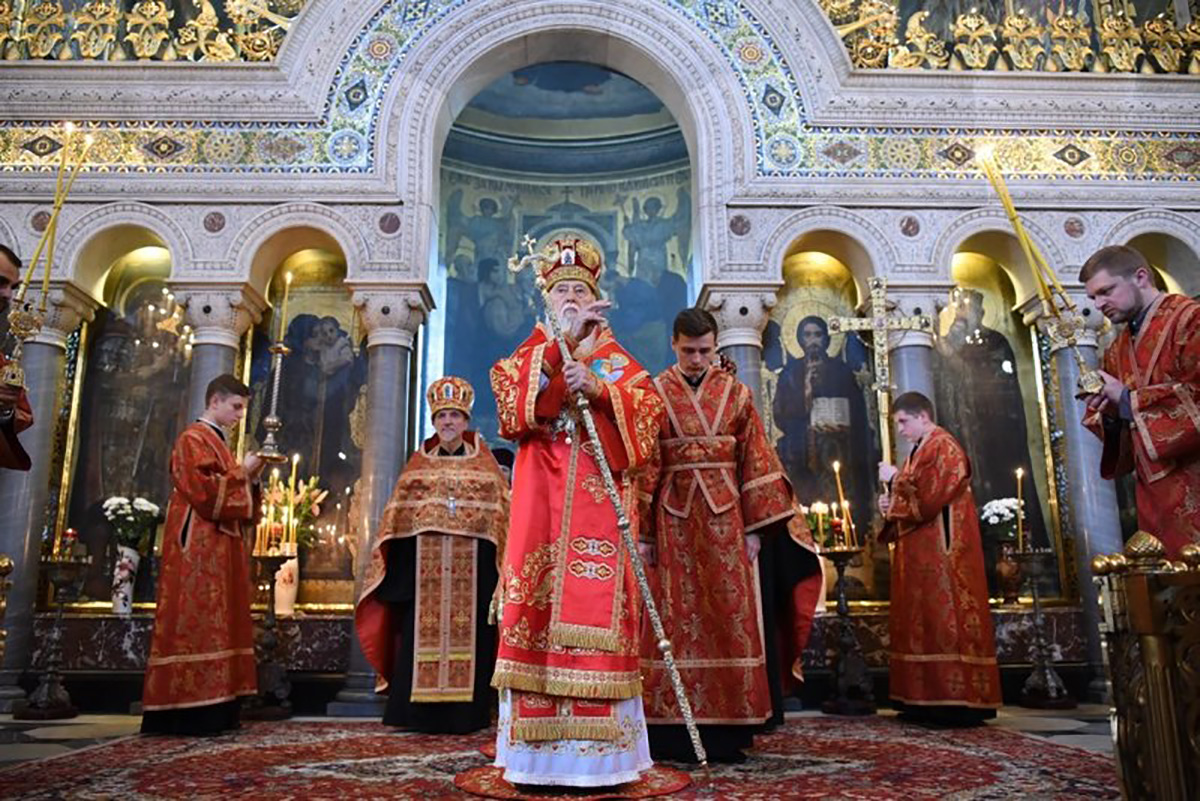 In Ukraine, the Church conflict broke out
