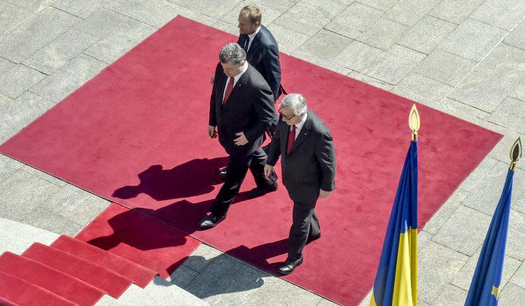 Из итогового заявления саммита был исключен пункт о перспективе членства Украины в ЕС