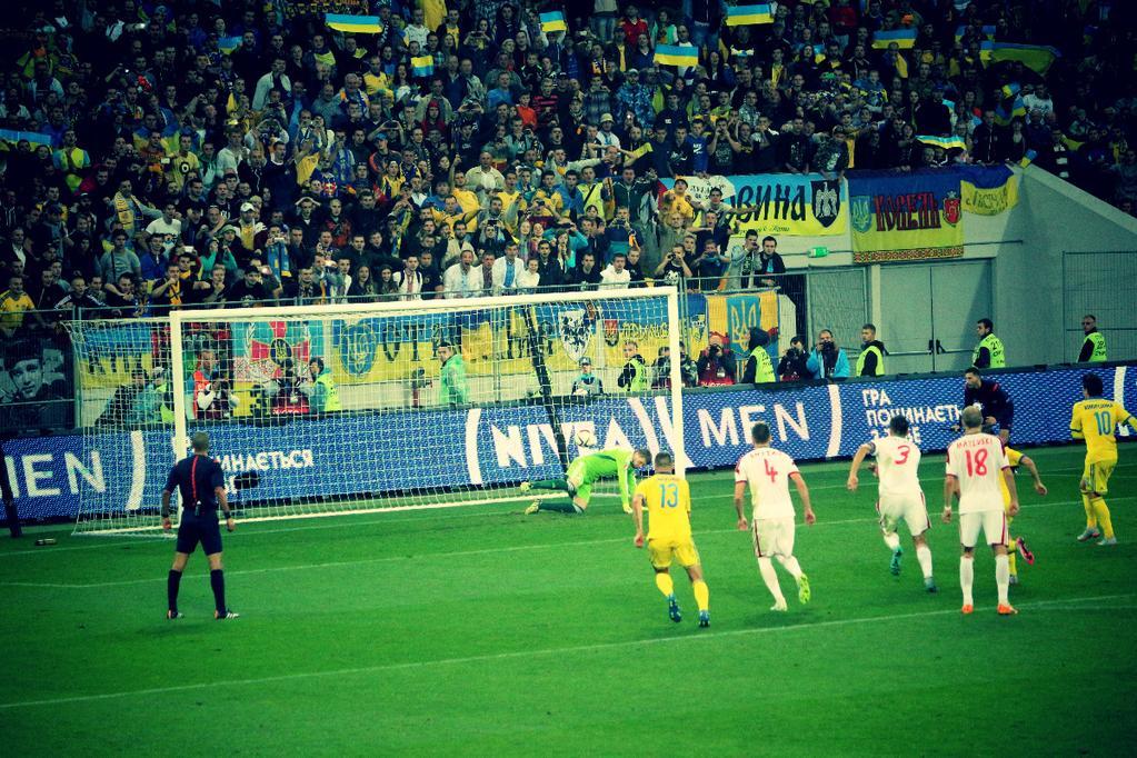 Обзор и видео матча Украина - Беларусь