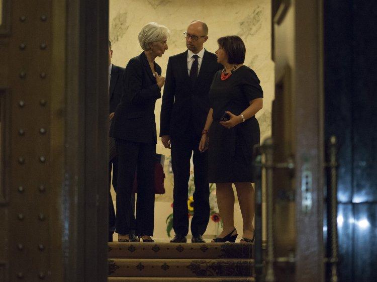 Украина может лишиться денег МВФ в случае, если депутаты провалят ряд законов