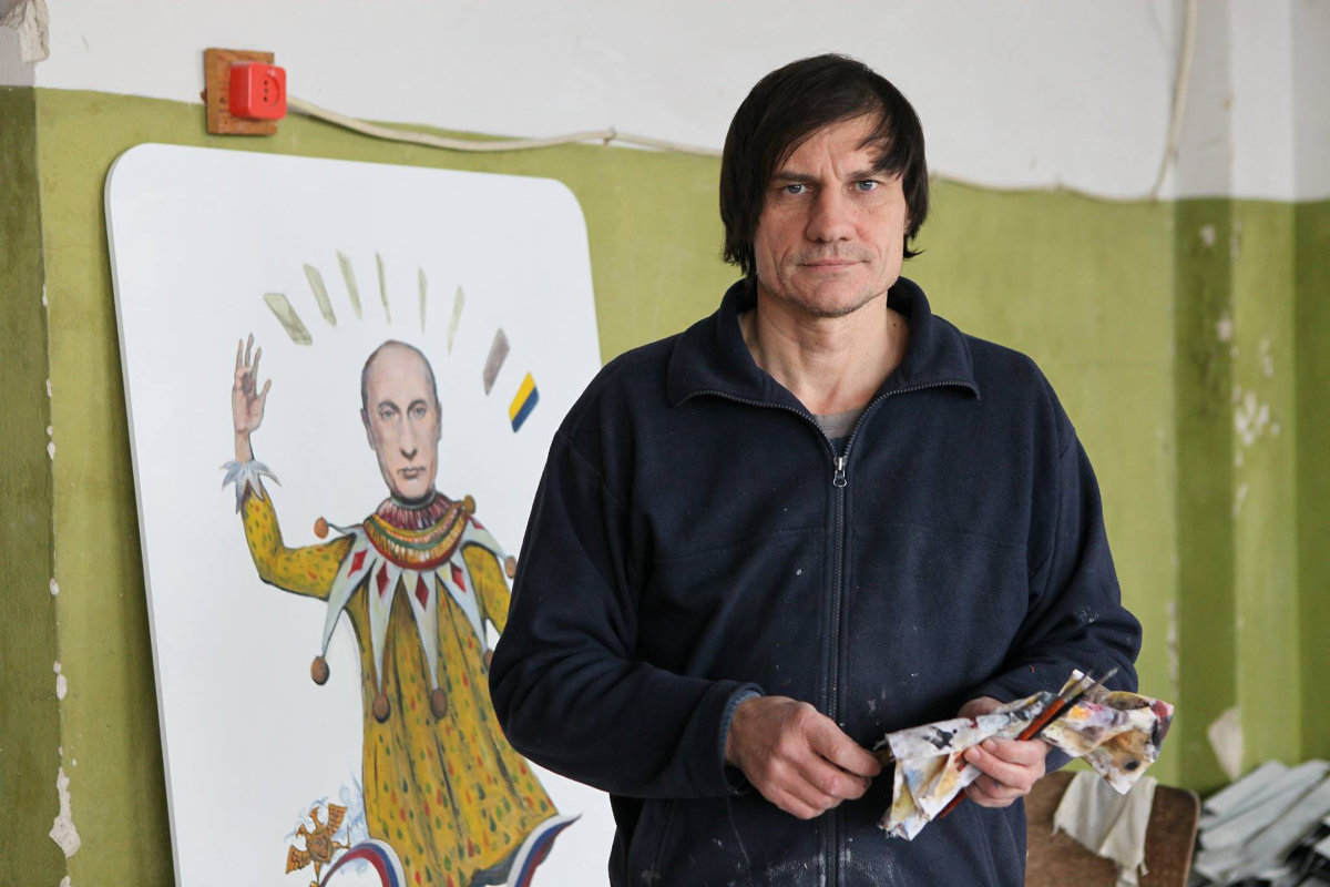 Известный художник из Донецка рассказал, почему он был вынужден покинуть родной дом