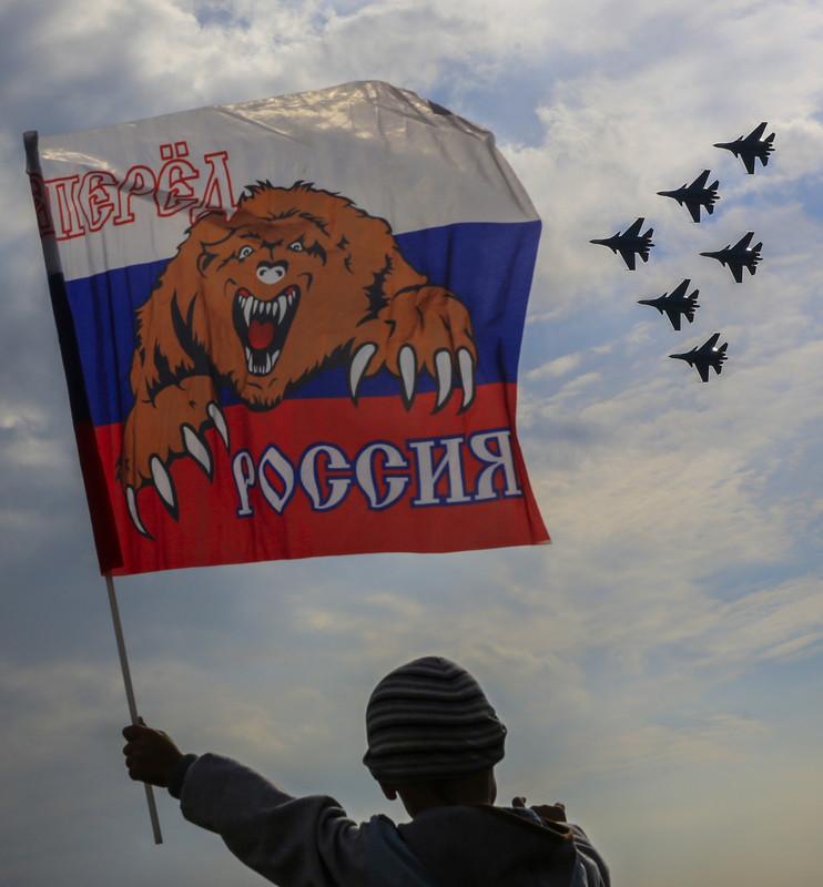 Российский медведь попал в украинский капкан