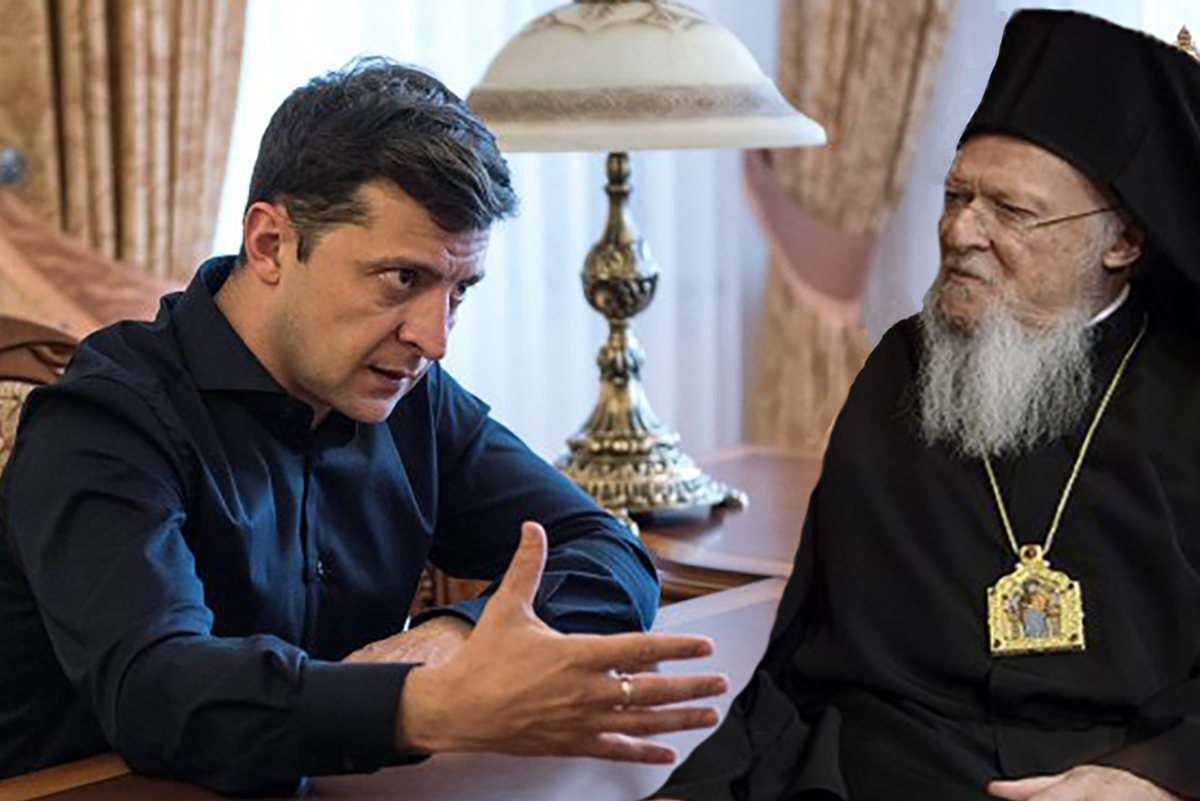 Meeting of Zelensky and Ecumenical Patriarch has several objectives