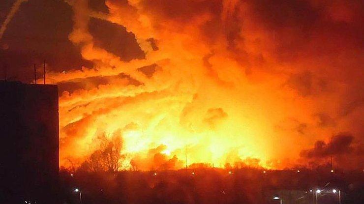 Взрывы в Калиновке - Когда и как в Украине взрывались склады с ...