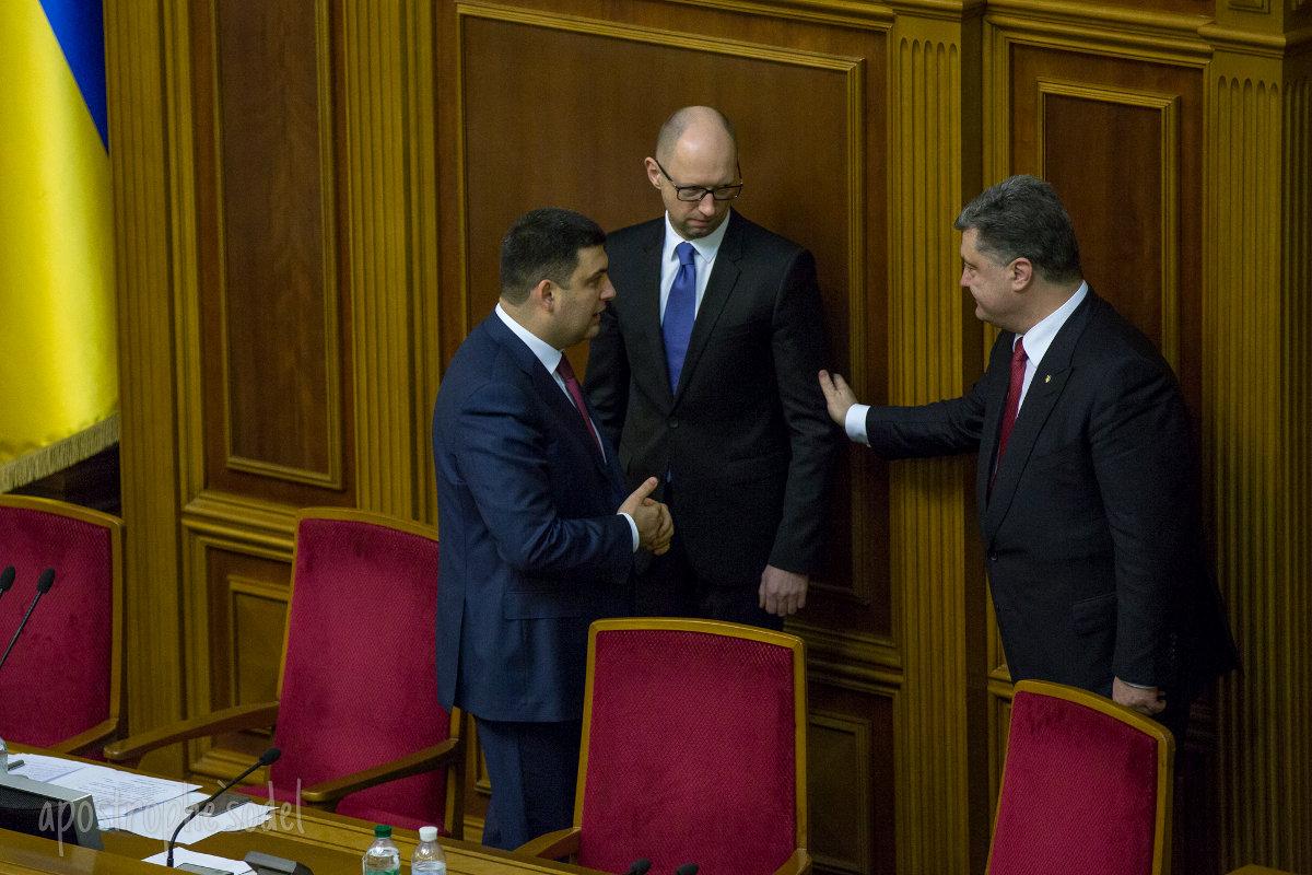 В Stratfor считают, что Яценюка заменит Гройсман