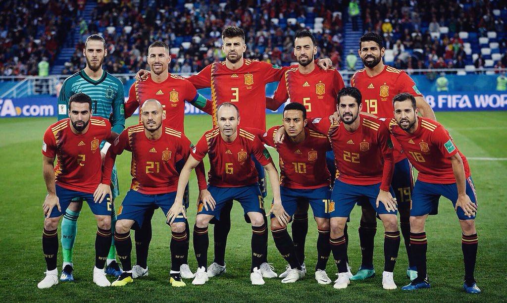 Испания и Россия вели борьбу за выход в четвертьфинал ЧМ-2018