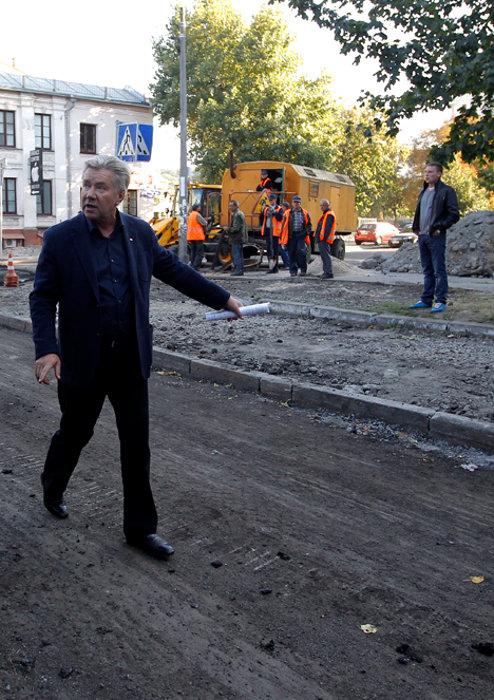 Гендиректор КК «Киевавтодор» Владимир Жуков рассказал о подготовке киевских дорог и техники к зиме