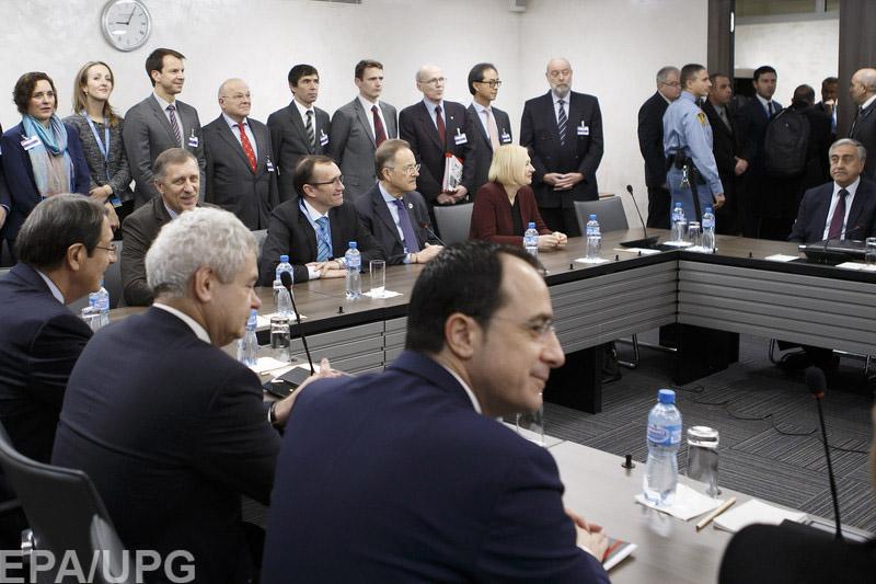 Переговоры про объединение Кипра провалились вкоторый раз