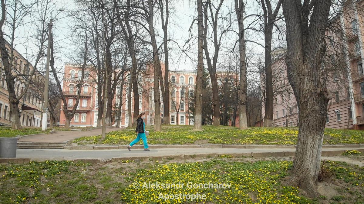 Александровская больница Киев коронавирус карантин Апостроф