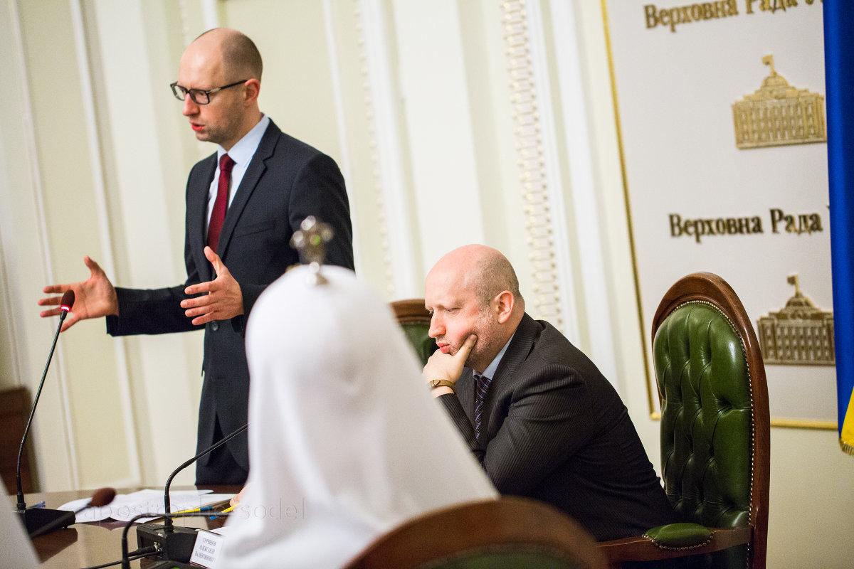 На заседании Всеукраинского Совета Церквей и религиозных организаций собравшиеся обсудили недопущение межконфессионального конфликта в Украине