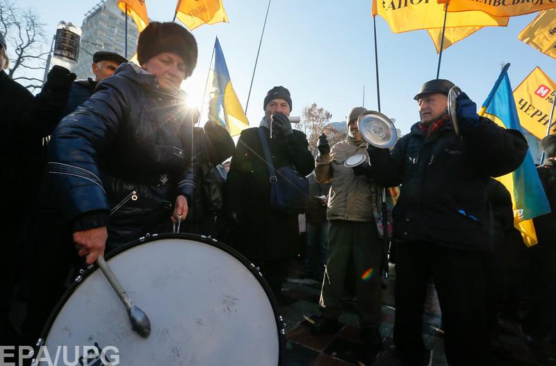 Социологи подчеркивают, что протестные настроения в Украине сильны всегда