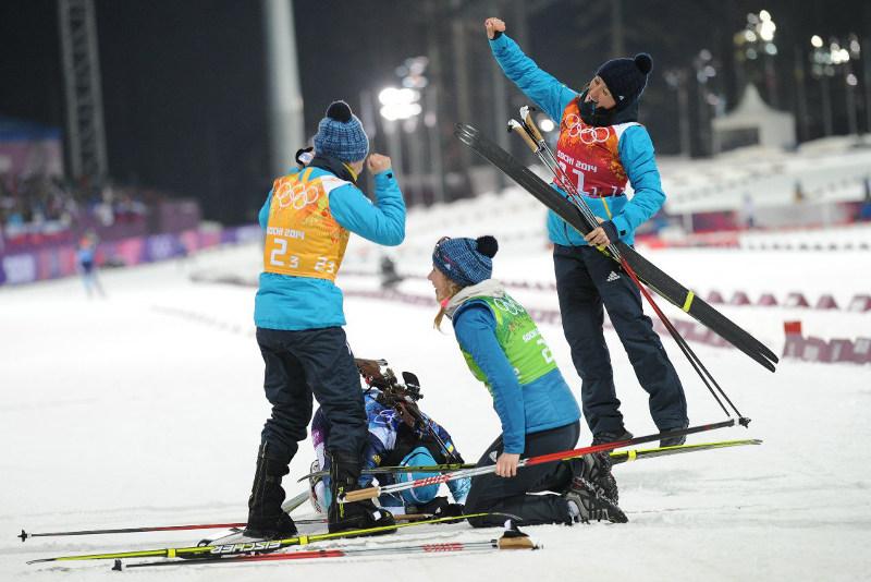 На Олимпиаде-2014 сборная Украины завоевала медали только в биатлоне