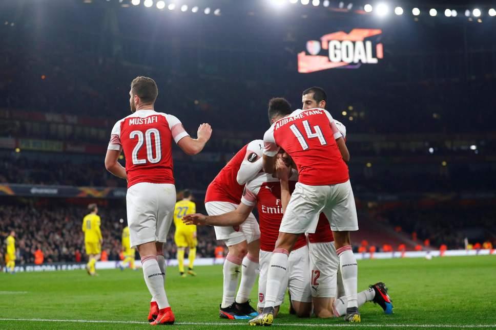 Арсенал обыграл Валенсию в первом полуфинальном матче Лиги Европы