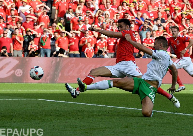 В 1/8 финала чемпионата Европы состоялось принципиальнейшее британское дерби