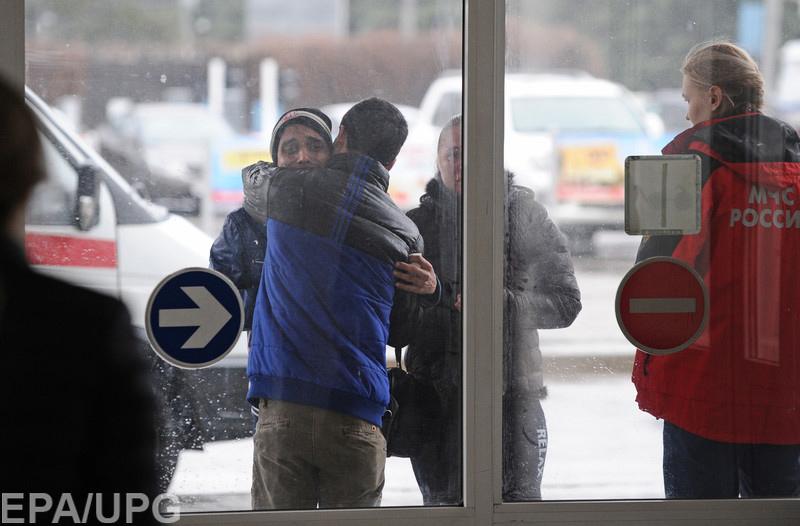 Самолет авиакомпании FlyDubai упал в аэропорту Ростова-на-Дону