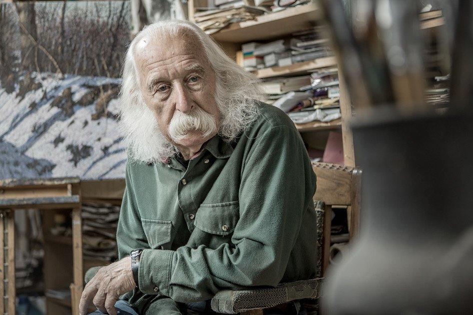 Видатний український художник про свою творчість і життя в Україні