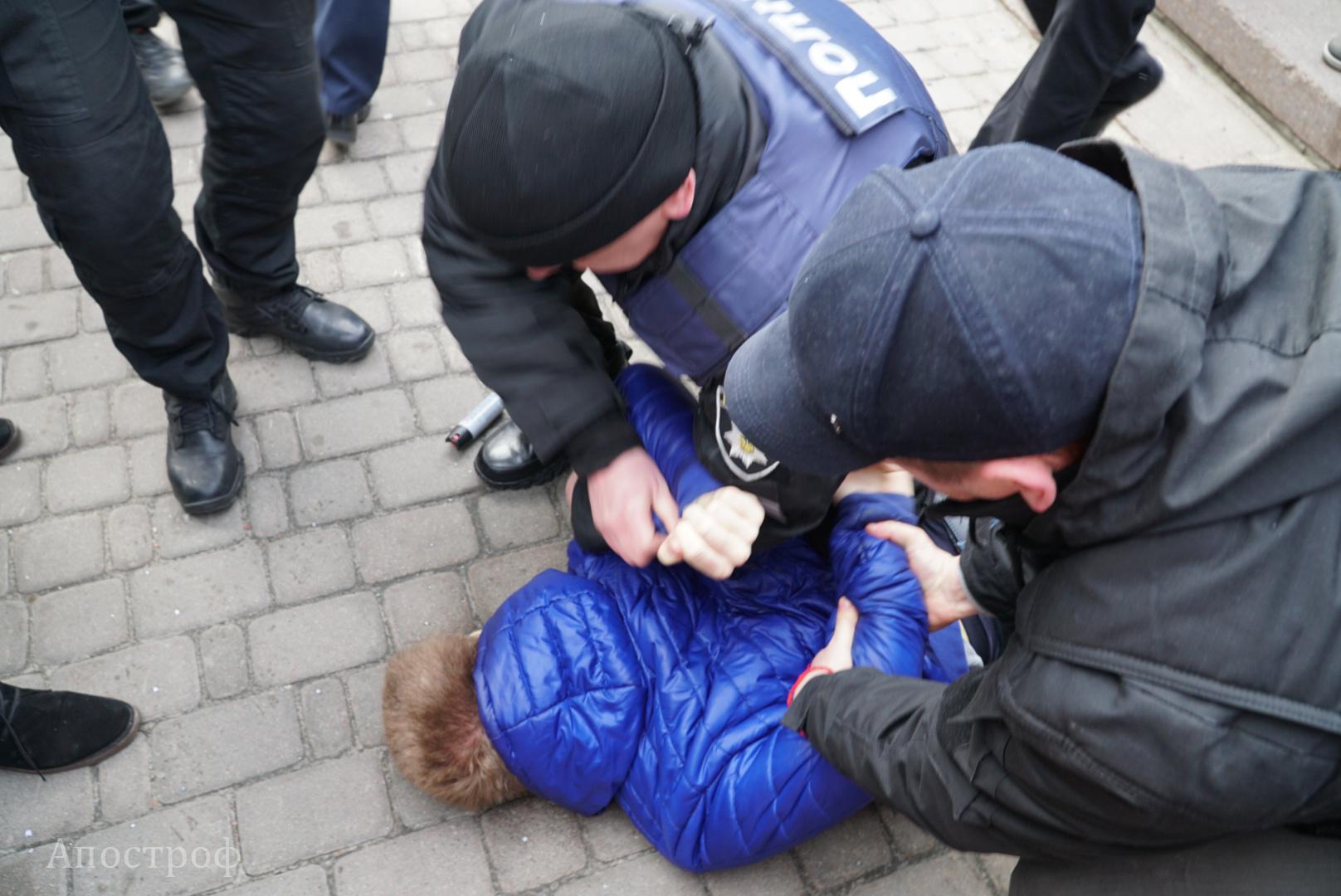 ВКиеве послучаю 8марта начался феминистический марш
