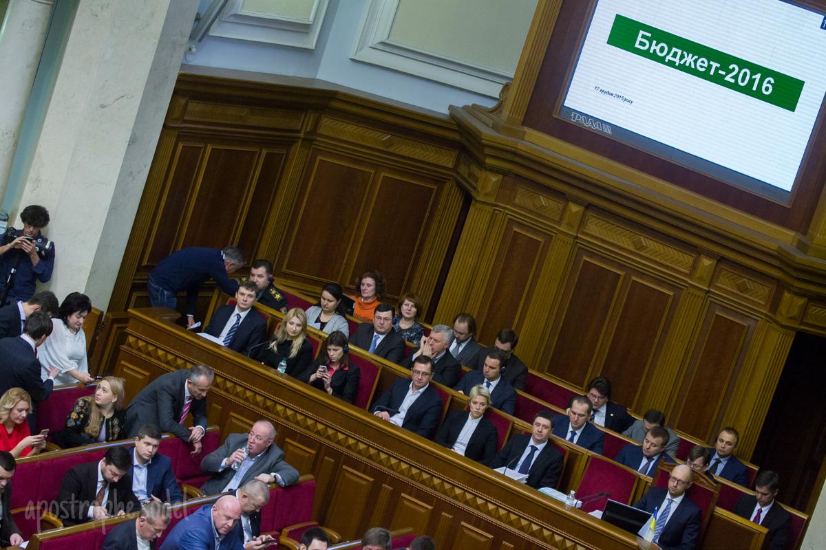 Как проходило голосование за бюджет на 2016 год