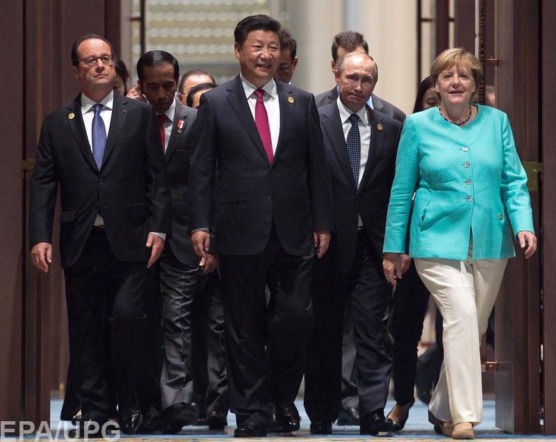 Украинский вопрос в Китае поднимался только в беседах тет-а-тет