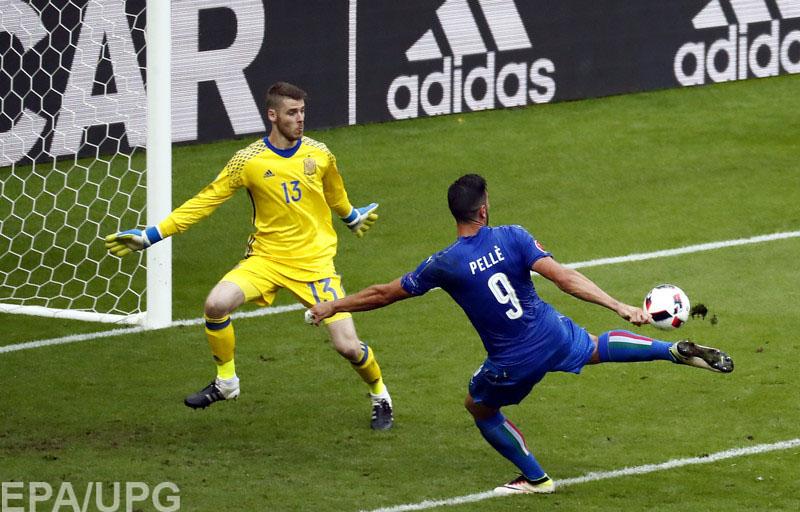 В 1/8 финала итальянцы отомстили испанцам за поражение в финале Евро-2012