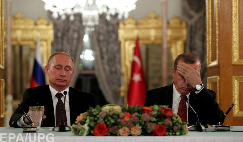 Год назад отношения между Москвой и Анкарой испортились из-за сбитого Су-24