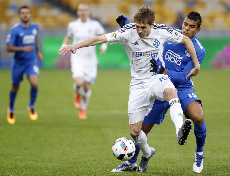 В Киеве состоялось захватывающее противостояние двух ведущих украинских клубов