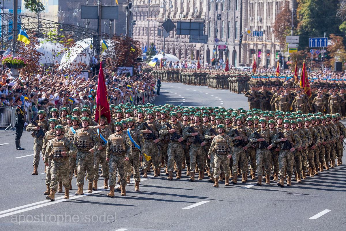 Фоторепортаж из центра Киева