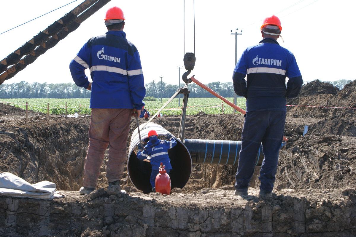 «Газпром» объявил о прекращении транзита газа через Украину с 2019 года